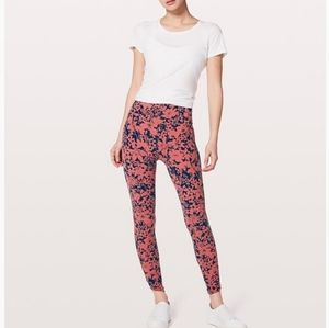 """Lululemon All You Do Tight - Floral 25"""""""